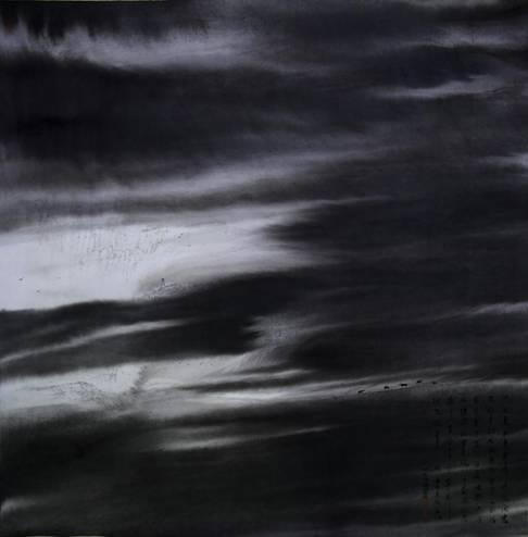 静观沧海 2017年  124×130cm